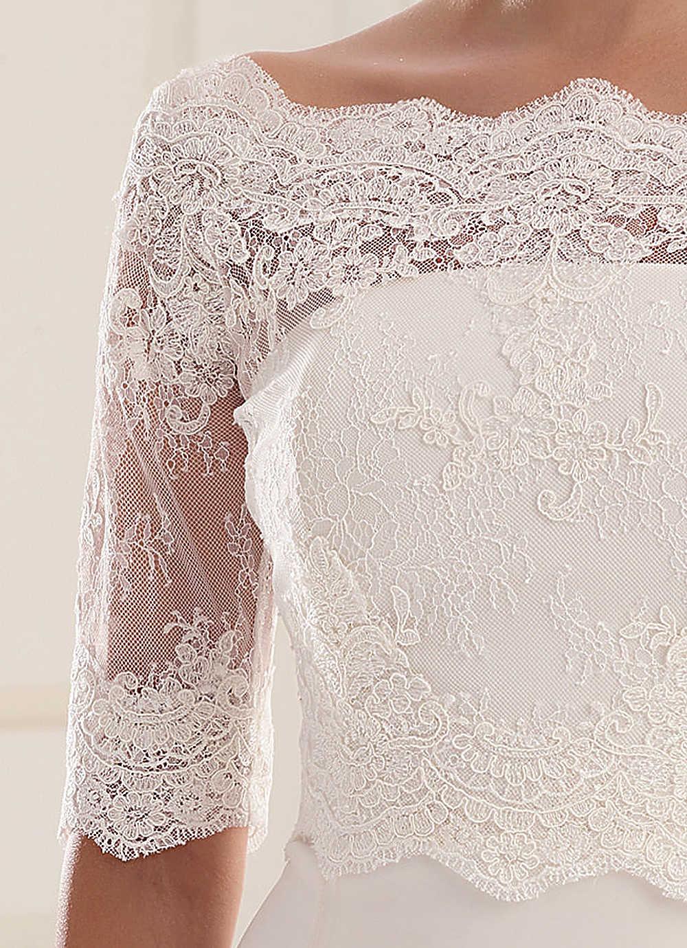 5b8b026eb7 Csipke boleró (221) :: Vicora esküvői ruhaszalon